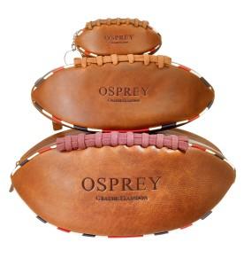 OSPREY LONDON The British Rugger in hava saddle leather Large RRP -ú65 Medium RRP -ú55 Keyring RRP -ú35