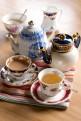 OSPREY LONDON The Saddlery Cafe china set